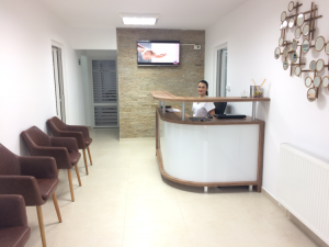 sala de asteptare cabinet stomatologic pitesti dr paul oltean implant dentar